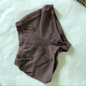 Pants - Knit short shorts
